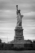 American Independance Photo Metal Prints - Statue of Liberty liberty island new york city Metal Print by Joe Fox