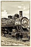 Privilege Framed Prints - Steam Engine Framed Print by Birgit Tyrrell