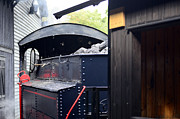 Wheel Photo Originals - Steam locomotive by Tommy Hammarsten