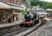 8 Prints - Steam Train Print by Adrian Evans