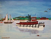 Bill Hubbard - Steam Tug Eveleth
