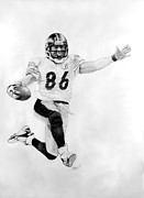 Pittsburgh Drawings - Steeler Finish by William Walts