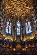 Angel Modern Art Posters - St.Giles Cathedral Poster by Svetlana Sewell