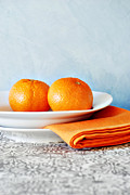Orange Photos - Still Life With Blood Oranges by HD Connelly