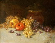 Grapes Art Originals - Still Life with Grapes by Vahe Yeremyan