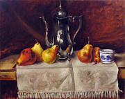 Vladimir Kezerashvili - Still life with pears