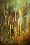Vegetation Paintings - still by Michael Lang