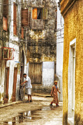 Small Towns Originals - Stone Town Alley by Amyn Nasser