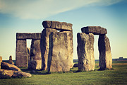 Unesco World Heritage Site Prints - Stonehenge Print by Colin and Linda McKie