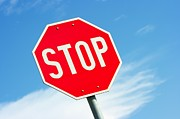 Stop Sign Photos - Stop sign by Peter Gudella