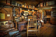 Cheese Shop Prints - Store - The American General Store Print by Lee Dos Santos