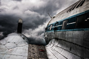 Dc-3 Framed Prints - Storm Ahead Framed Print by Ryan Wyckoff