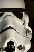 Movie Prop Framed Prints - Stormtrooper Helmet Framed Print by Micah May