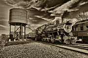 Strasburg Framed Prints - Strasburg Railroad 3 Framed Print by Jack Paolini