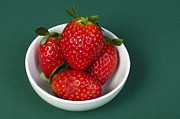 Strawberries Print by Deyan Georgiev