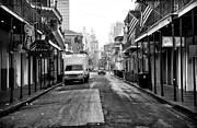 Louisiana Artist Prints - Street Cleaning Print by John Rizzuto
