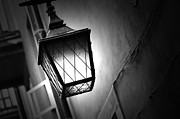 Night Lamp Posters - Street lamp shining Poster by Michal Bednarek