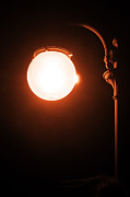 Streetlight Digital Art - Streetlights Through The Darkness by Christos Dimou