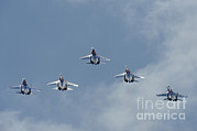 Featured Acrylic Prints - Sukhoi Su-27 Flanker Aircraft Acrylic Print by Remo Guidi