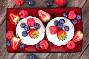Food And Beverage Photos - Summer fruit platter by Jane Rix
