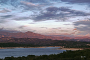Yefim Bam - Sunset at Cachuma Lake