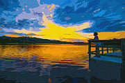 Brian Stevens - Sunset Fishing