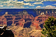 Ebay Framed Prints - Sunset Grand Canyon Framed Print by Nadine and Bob Johnston