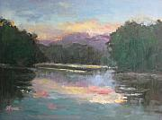 Sharon Franke - Sunset on the River