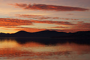 Sunset Over Lake Tahoe Print by Benjamin Reed