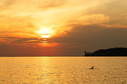 Ian Middleton - Sunset over Trieste Bay