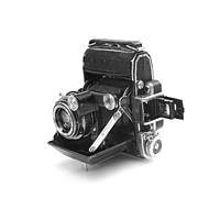 Film Camera Photo Prints - Super-Ikonta A Print by Paul Cowan