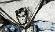 Superhero Drawings - Superman by Jazzboy
