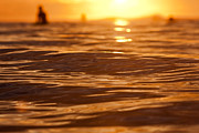 Surf Lifestyle Photos - Surfers Sunset by Paul Topp