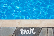 Swimming Pool Print by Tom Gowanlock