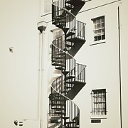 Spiral Staircase Prints - Swirling Spiral Print by Meg Lee Photography