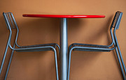 Kitchen Table Prints - Table And Chairs Print by Dan Holm