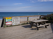 Sea Platform Prints - Table for You Print by Allan  Hughes