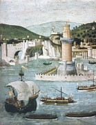 Italian Landscapes Prints - Table Of The Strozzi. 1472-1473. The Print by Everett