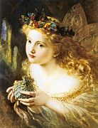 Anderson Digital Art - Take The Fair Face Of Woman by Sophie Anderson