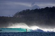 Perfect Wave Framed Prints - Tasmania Dream Framed Print by Sean Davey