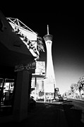 Stratosphere Photos - tattoo parlour near the statosphere hotel tower and casino Las Vegas Nevada USA by Joe Fox