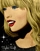 Taylor Swift Art - Taylor Swift Portrait  by Kasey Zadakis