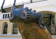 Sculptur Posters - TCU Horned Frogs Poster by John Babis