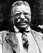 Teddy Roosevelt Posters - Teddy Roosevelt Poster by Bill Cannon