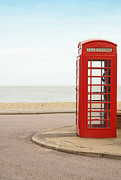 Telephone Booth Framed Prints - Telephone Booth Framed Print by Chevy Fleet