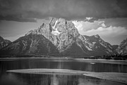 Moran Pyrography Prints - Teton National Park Print by Oleksii Khmyz