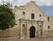 Texas Revolution Prints - The Alamo Print by David and Carol Kelly