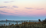 York Beach Metal Prints - The Bay Metal Print by JC Findley