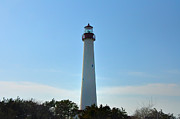 The Beacon Of Cape May Print by Bill Cannon