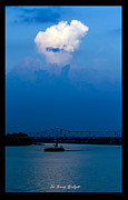Ohio River Landscapes Posters - The Beauty Of Light Poster by David Lester